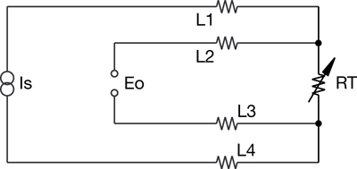 rtd ciruitry 4 wire rtd circuit